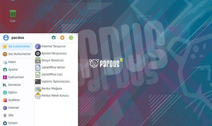 pardus linux screenshot