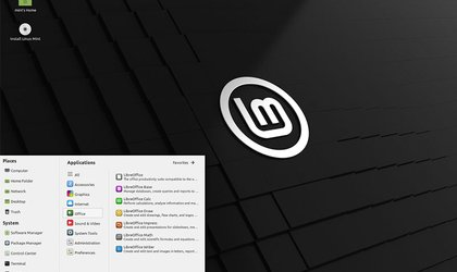 Screenshot Linux Mint 20