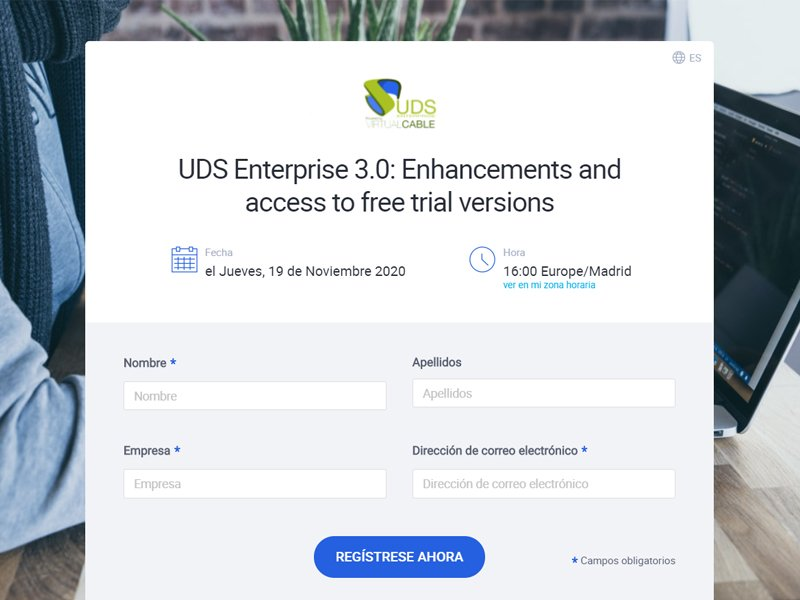Webinar UDS Enterprise 3.0