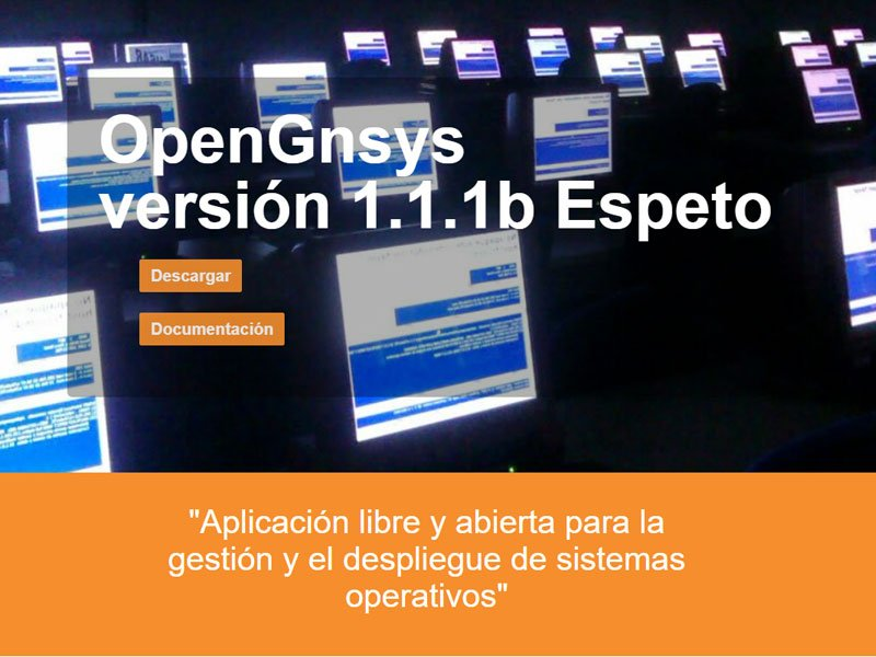 captura web opengnsys